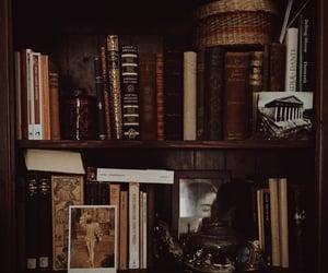 aesthetic, book, and dark academia image