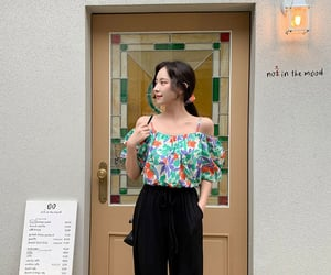 korean, kfashion, and korean fashion image