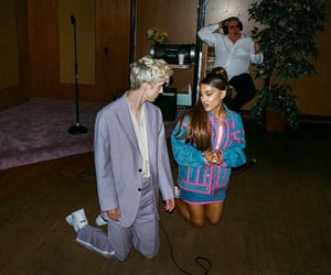 ariana grande, troye sivan, and dance to this image
