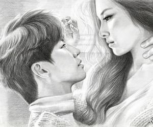 art, kim so-eun, and Сон Чжэ Рим image