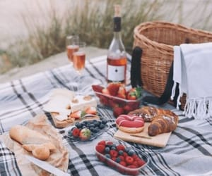 beach, breakfast, and FRUiTS image