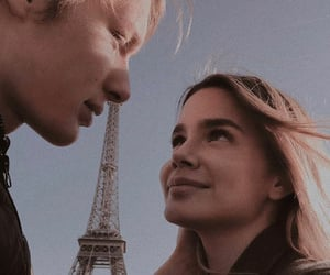 couple, lovers, and paris image