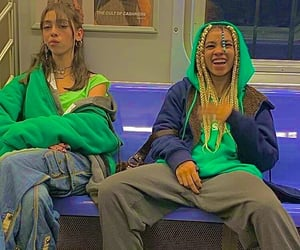 green, indie, and subway image