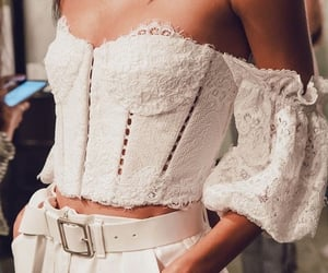 fashion, outfit, and corset image
