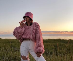 blogger, knitwear, and look image