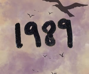 1989, albums, and clouds image