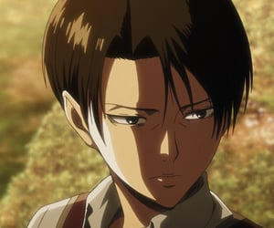 levi, anime boy, and attack on titan image