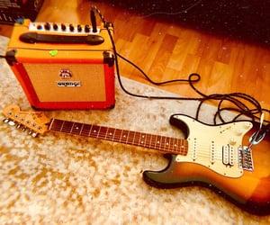 carpet, fender, and guitar image
