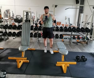 fitness, happy, and training image