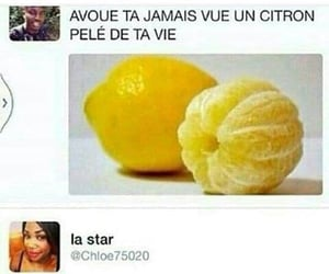 blague, citron, and idiote image
