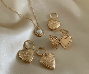 accessories, aesthetic, and gold image