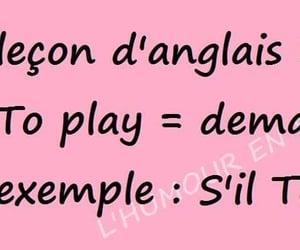 francais, play, and blague image