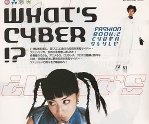magazine, cyber, and y2k image