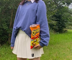 fashion, school girl, and trendy image