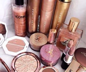 beauty, lipstick, and perfume image