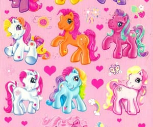my little pony and vintage image