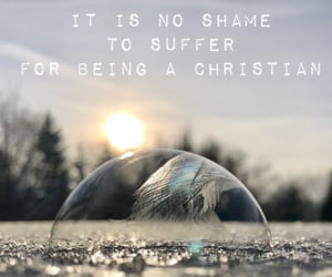 bible, quote, and frozen soap bubble image