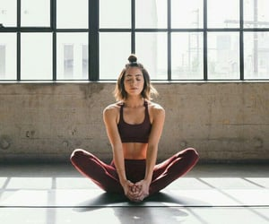 girl, healthy, and sport image