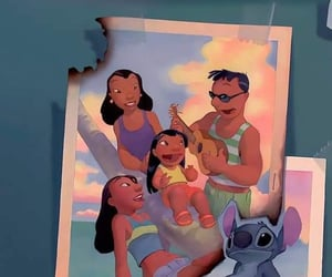 background, disney, and family image