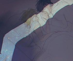 anime, banana fish, and ash image
