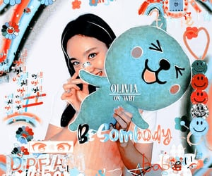 olivia, soft, and theme image
