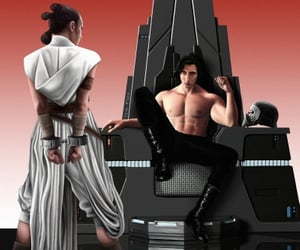 sw, reylo, and ben solo image