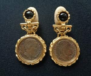 etsy, essex gold jewelry, and essex gold earrings image