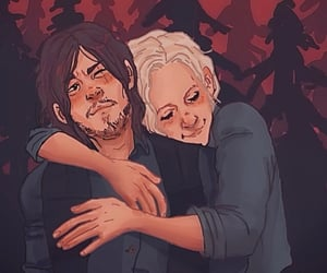 twd, love, and carol peletier image