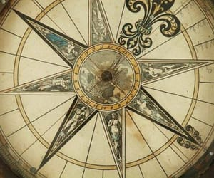 compass, historic, and 1700s image