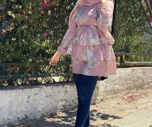 chemise, hijab, and shirt image