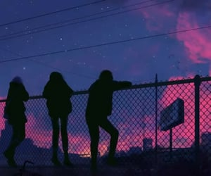 aesthetic, friends, and anime aesthetic image