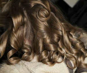 hair, aesthetic, and curls image