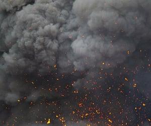 fire and smoke image