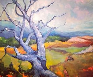 fine art, figurative art, and landscape painting image