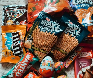 chips, kinder, and yummy image