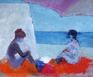 figurative art, landscape painting, and italian painter image