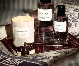 candle, Christian Dior, and perfume image