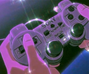 anime, aesthetic, and playstation image