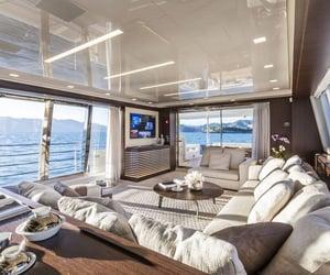 interior, sea, and goals image