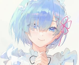 aesthetic, maid, and short hair image