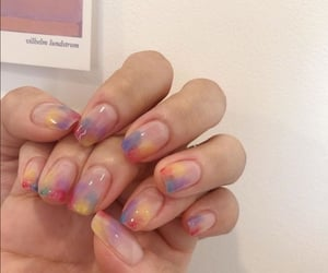 nails, colors, and style image