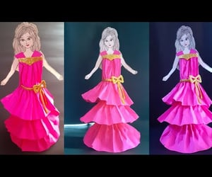 doll, barbie doll, and craft for kids image