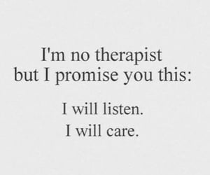 care, listen, and quotes image
