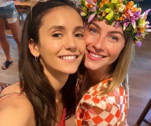 best friends, celebrities, and Nina Dobrev image