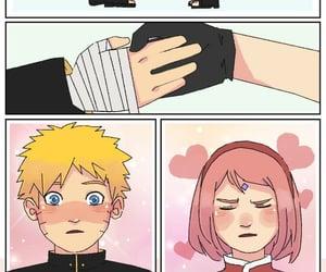anime, sakura haruno, and 🍥 image