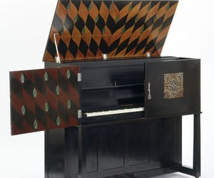 1900s, piano, and marquetry image