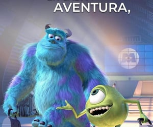 amigos, monsters inc, and frases disney image