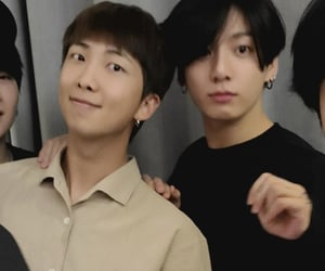 bts, jungkook, and namkook image