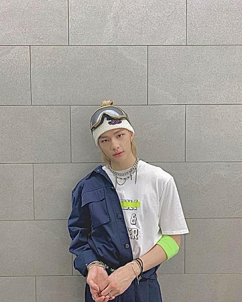 stray kids, kpop, and hyunjin image