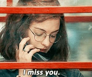 one day, i miss you, and miss image